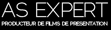 AS EXPERT - Producteur de films de présentation en qualité cinéma